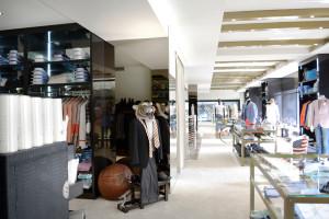 pareti divisorie negozio abbigliamento