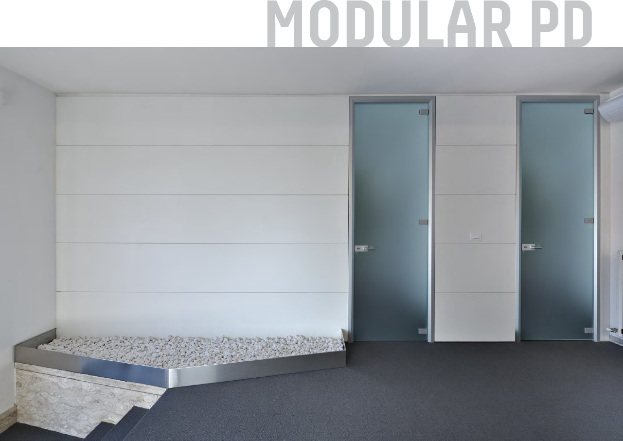pareti divisori modulari